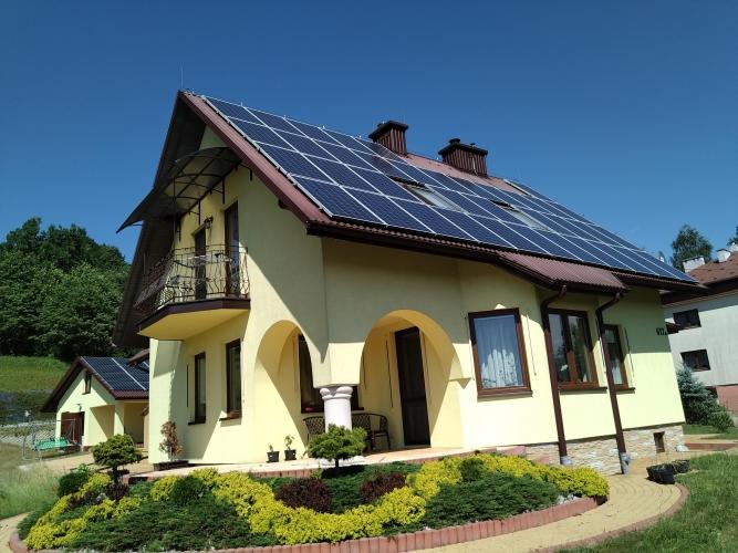 instalacja cały dach